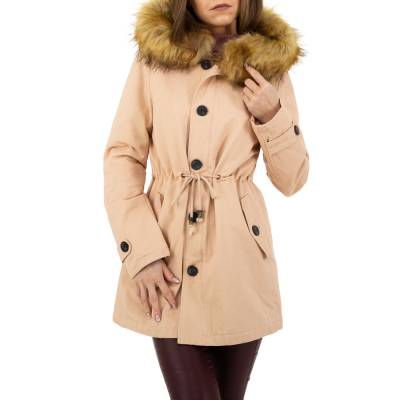 Parka für Damen in Orange
