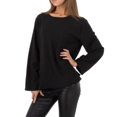 Blusenkleid für Damen in Schwarz