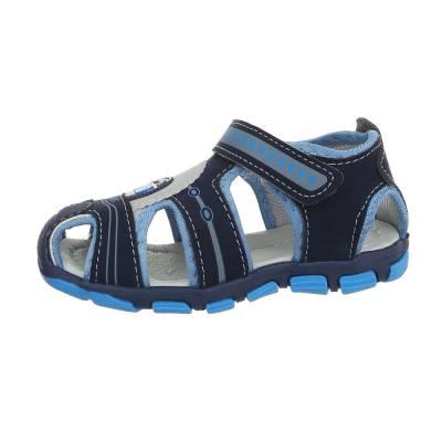 Jungen Kinder Sandalen Blau