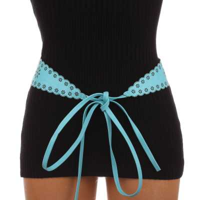 Moderner Damen Gürtel Blau