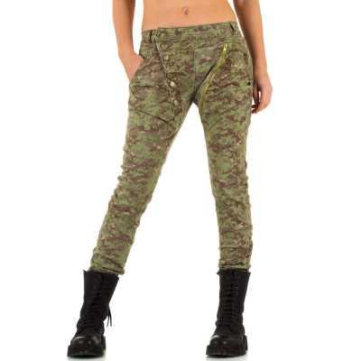 Boyfriend Jeans für Damen in Camouflage