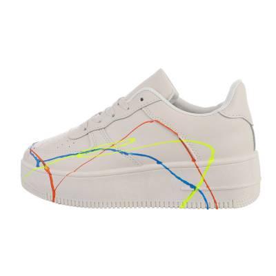 Sneakers Low für Damen in Beige