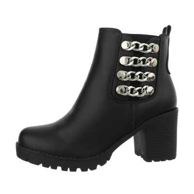 Western- & Bikerboots für Damen in Schwarz