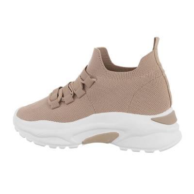 Sneakers Low für Damen in Hellbraun