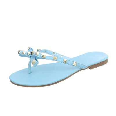 Zehentrenner für Damen in Blau