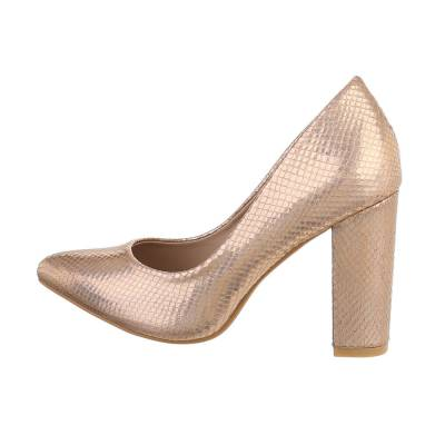 High Heel Pumps für Damen in Rosa und Gold