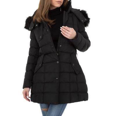 Winterjacke für Damen in Schwarz
