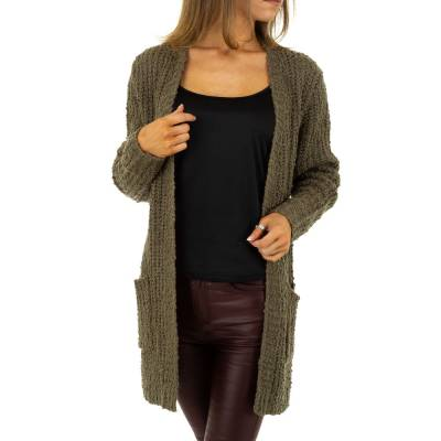 Strickjacke für Damen in Braun