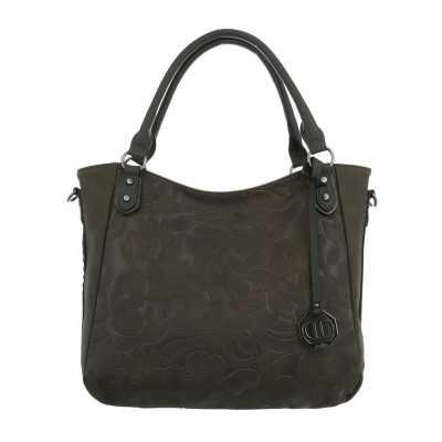 Mittelgroße Damen Tasche Olive
