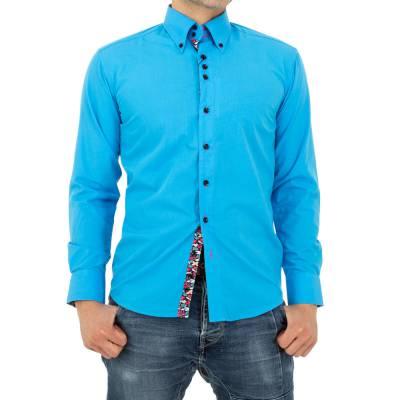 Hemd für Herren in Blau