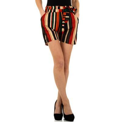 High Waist Shorts für Damen in Rot