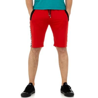 Shorts für Herren in Rot