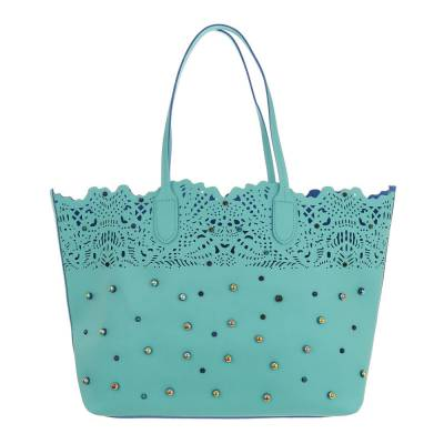 Shopper für Damen in Blau