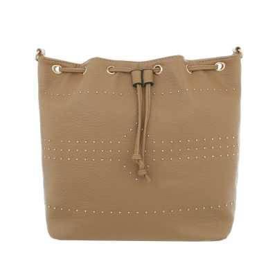 Kleine Damen Tasche Hellbraun