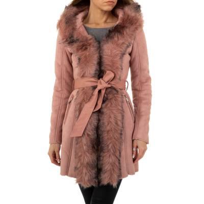 Wintermantel für Damen in Rosa