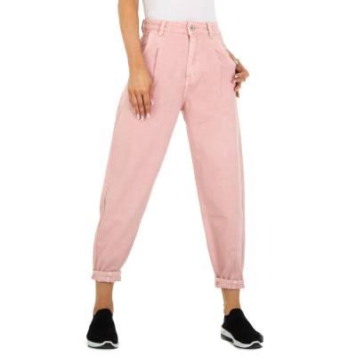 Relaxed Fit Jeans für Damen in Altrosa