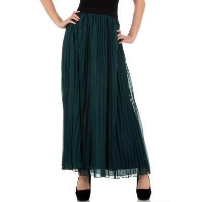 Maxirock für Damen in Grün