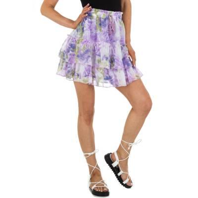 Minirock für Damen in Mehrfarbig