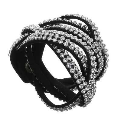 Armband für Damen in Schwarz