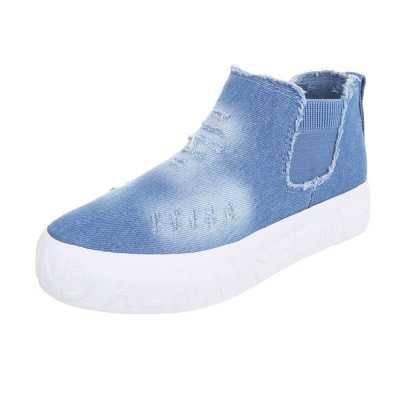 Sneakers high für Damen in Blau