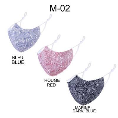 Verstellbare Gesichtsmaske Mundschutz Maske Blau