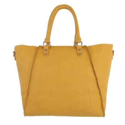 Shopper für Damen in Gelb