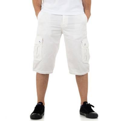 Shorts für Herren in Weiß