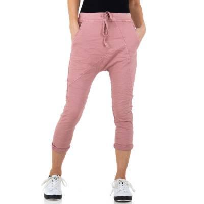Boyfriend-Hose für Damen in Rosa
