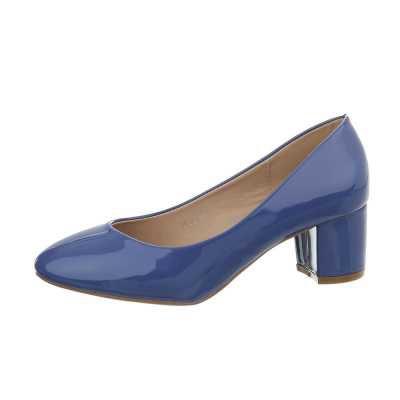 Klassische Pumps für Damen in Blau