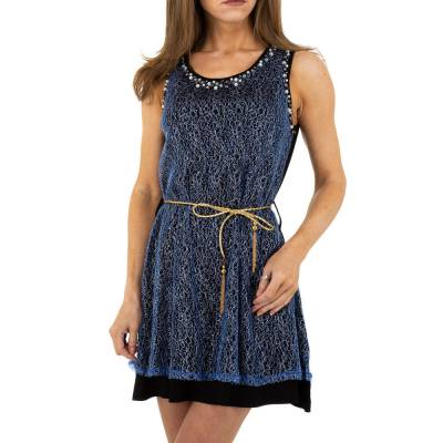 Minikleid für Damen in Blau