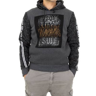 Pullover für Herren in Grau