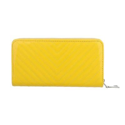 Geldbörse für Damen in Gelb