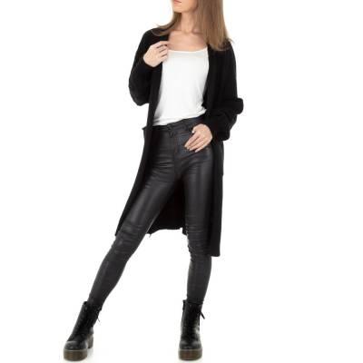 Strickjacke für Damen in Schwarz