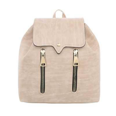 Kleine Damen Tasche Beige Braun