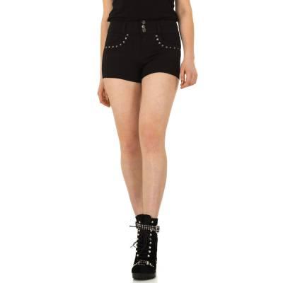 Hotpants für Damen in Schwarz