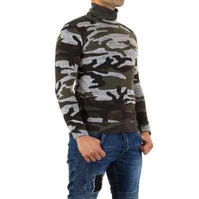 Pullover für Herren in Camouflage