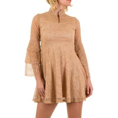 Minikleid für Damen in Beige