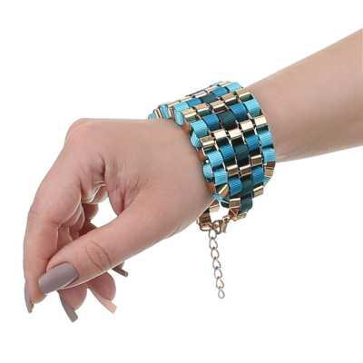 Armband für Damen in Türkis