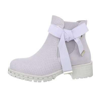 Chelsea Boots für Damen in Lila