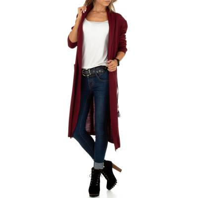 Cardigan für Damen in Rot