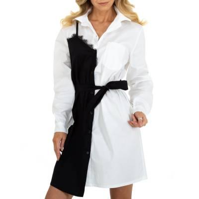 Sommerkleid für Damen in Weiß und Schwarz