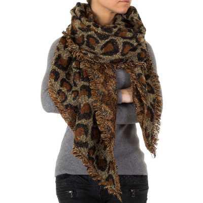 Schal für Damen in Braun