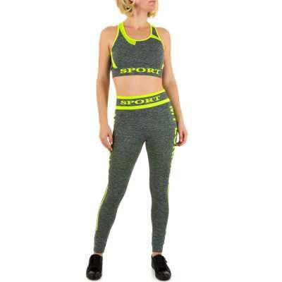 Jogging- & Freizeitanzug für Damen in Gelb