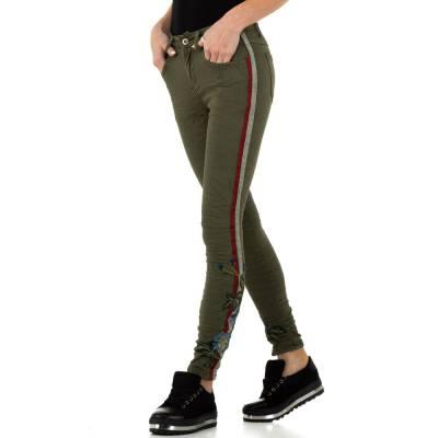 Skinny Jeans für Damen in Braun