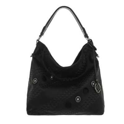 Große Damen Tasche Schwarz