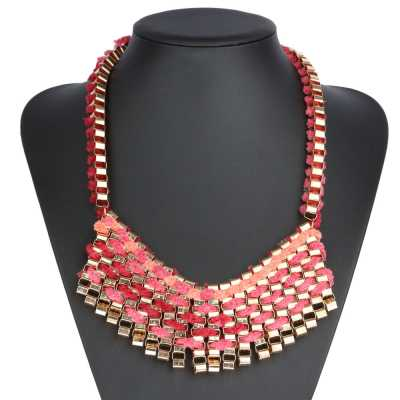 Halskette für Damen in Rosa