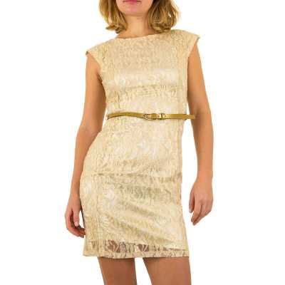 Cocktailkleid für Damen in Gold
