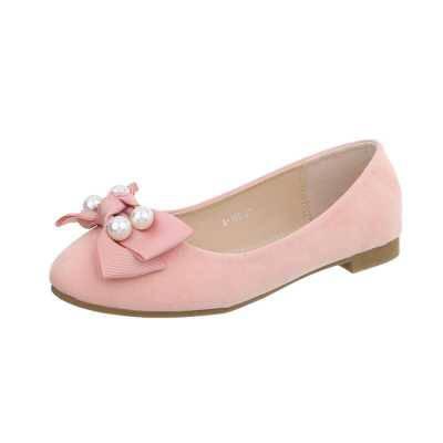 Klassische Ballerinas für Damen in Rosa