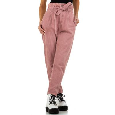 Chinos für Damen in Rosa