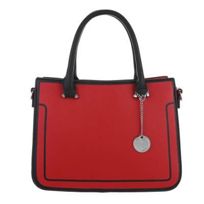 Schultertasche für Damen in Rot